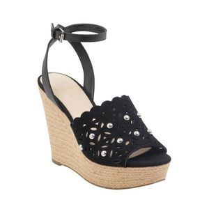 Marc Fisher Women's Hata Ankle Strap Wedge Sandals